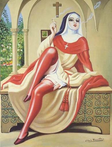 erotic-nun
