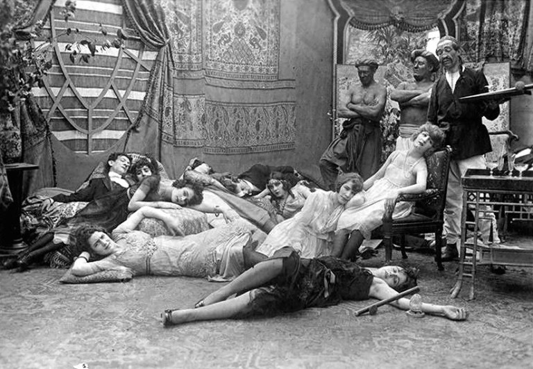 L'enfer Opium_film_dandy_pacha_france_1908_1918_