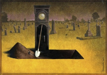 surrealism-painting-grandfather-clock-grave-digger-irony-humor-art-643x453.jpg